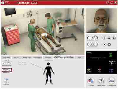American Heart Association ACLS e-learning course