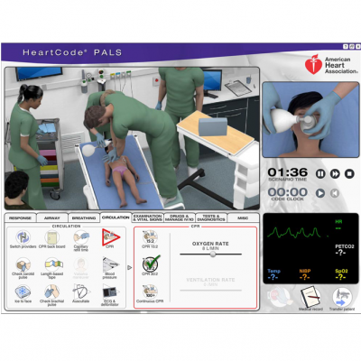 American Heart Association PALS e-learning course