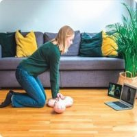 Nurse CPR Home Virtual